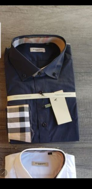 New men's Burberry dress shirt for Sale in Bakersfield, CA