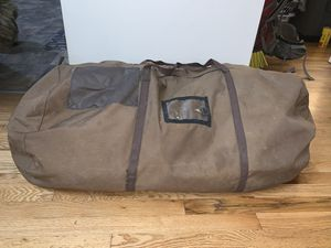 Canvas duffle bag for Sale in Tacoma, WA