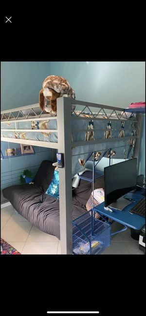 Amazing full size bunk bed with sofa bed underneath! for Sale in Boca Raton, FL