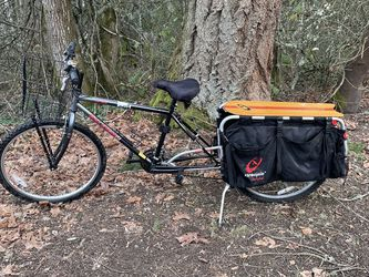 Raleigh M20 Mountain bike + Xtracycle Free Radical Cargo Extension - Carry 200 Pounds for Sale in Beaverton,  OR