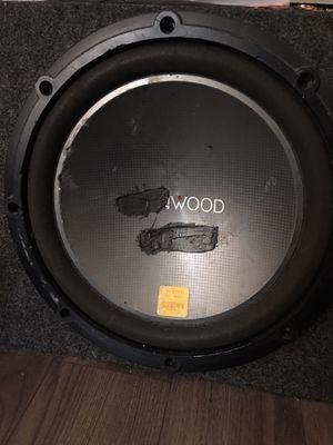 "Kenwood 12"" subwoofer for Sale in Philadelphia, PA"