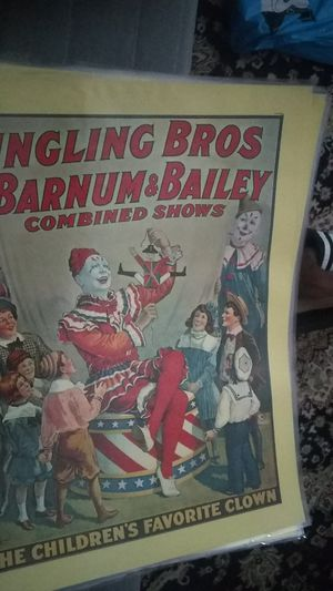 The Barnum and Bailey's circus posters for Sale in Cranston, RI