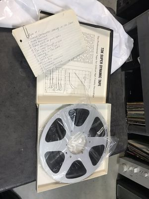 Reel to Reel Tapes ......... 2 for sale for Sale in Jurupa Valley, CA
