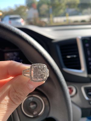 Engagement ring, Size 7 for Sale in Rock Hill, SC