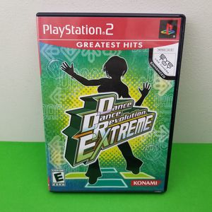 Dance Dance Revolution: Extreme DDR PlayStation 2 PS2 Complete with Manual for Sale in Hephzibah, GA
