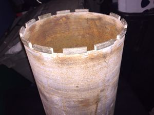 Concrete Drill Bit Hole seventeen inch cylinder for Sale in San Diego, CA