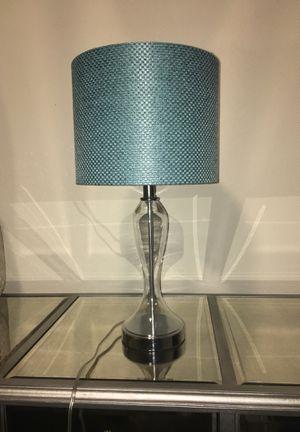 Turquoise shade lamp for Sale in Atlanta, GA