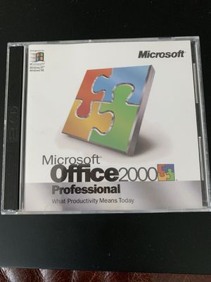 MS Office Professional 2000 for Sale in Austin, TX