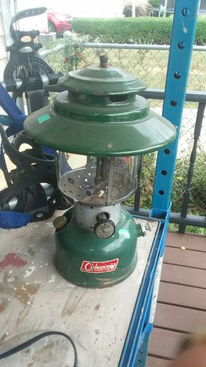 Coleman white fuel Lantern for Sale in Cleveland, OH