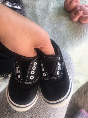 Vans size 8 toddler asking 10$ for Sale in Moreno Valley, CA