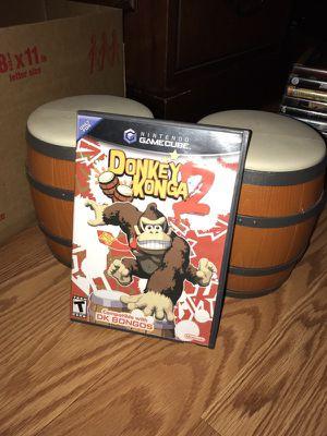 Donkey Konga 2 with bongos for Sale in Manassas, VA