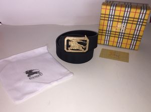 Burberry Black Reversible Belt for Sale in New York, NY
