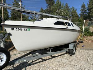 1994 Hunter 19 Sailboat with trailer for Sale in Jurupa Valley, CA