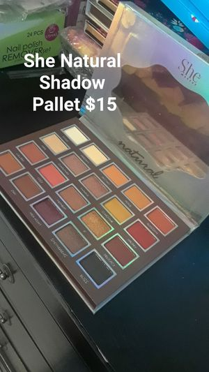 Natural She Shadow Pallet for Sale in Houston, TX