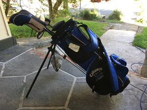 Callaway junior golf clubs with bag. Right handed. for Sale in Portland, OR
