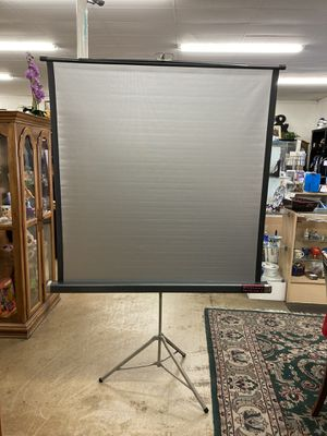 Vintage projector screen for Sale in Fullerton, CA
