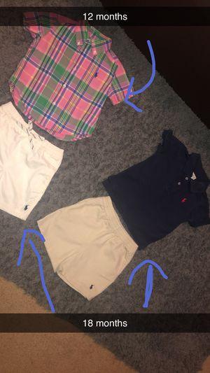Ralph Lauren toddler clothes for Sale in Hampton, GA