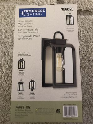"(2) BRAND NEW Progress Lighting ""Refuge Collection"" 13 1/4"" Wall Lanterns for Sale in Wylie, TX"