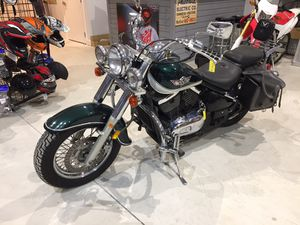 1998 Kawasaki Vulcan 800cc motorcycle 34,246 miles cobra pipes will trade for Sale in Westford, MA