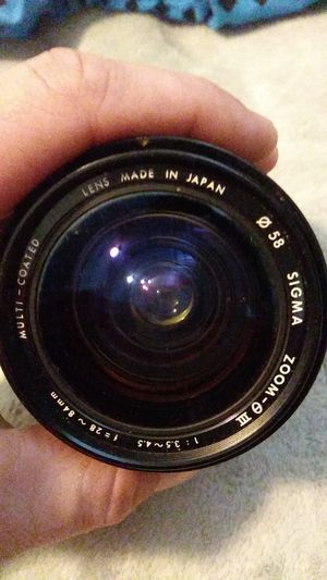 SIGMA ZOOM 3 Lens for Sale in GOODLETTSVLLE, TN