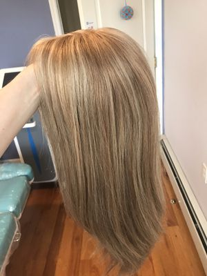 100% Human European style hair wig new Small for Sale in Brooklyn, NY
