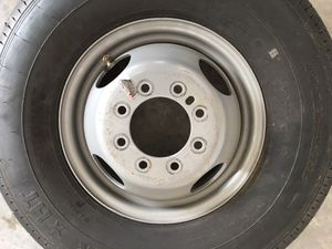 New tire and rim for trailer only. Will work on 12k pounds axle. 14 ply tire. for Sale in Riverview, FL