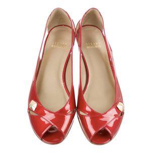 STUART WEITZMAN Patent Leather Peep-Toe Flats in Size 8.5 for Sale in Nashville, TN