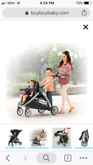 Chico double stroller bravo for 2 for Sale in Ruskin, FL
