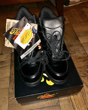 NEW Thorogood Black Code 3 6-inch Enforcer Work Boots 834-6075 Size 8.5 W for Sale in Chantilly, VA