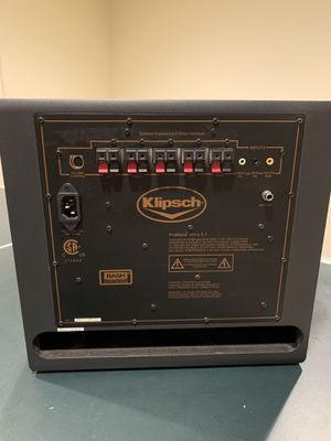 KLIPSCH PROMEDIA ULTRA 5.1 SUBWOOFER AND VOLUME CONTROL for Sale in Naperville, IL