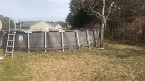 Coleman Power Steel Pool 26' x 52 inch for Sale in Kinston, NC
