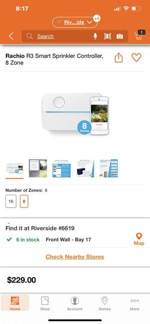 New in box 8 station smart sprinkler system for Sale in Riverside, CA
