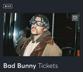 Bad Bunny Concert Tickets for Sale in West Springfield, VA