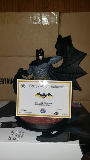 Batman Damned Collectible Statue - PX Previews Exclusive San Diego Comic Con 2019 Limited Edition for Sale in Los Angeles, CA