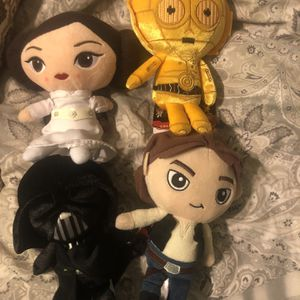 Collectible Star Wars Galactic Plushies for Sale in Panama City, FL