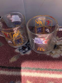 McDonalds 1984 Olympic Mugs-2 for Sale in Punta Gorda,  FL