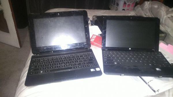2 HP Mini Laptops