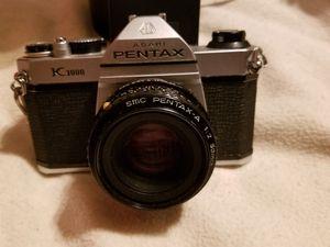Pentax K1000 35mm film SLR Camera & accessories for Sale in Bloomfield Hills, MI