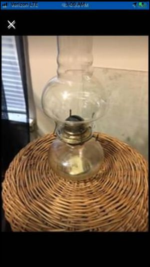 antique oil lamp for Sale in North Little Rock, AR