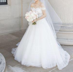 Designer wedding dress for Sale in Overland Park, KS