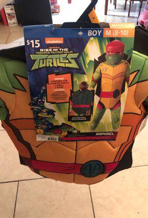 Rise of the Teenage Mutant Ninja Turtles Costume New Raphael for Sale in Houston, TX