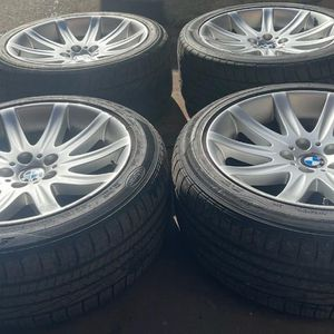 "BMW 19"" (inch) 745i Wheels ( 4 ) Great condition for Sale in Providence, RI"
