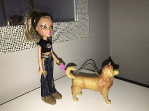 Bratz Doll with dog for Sale in Albuquerque, NM