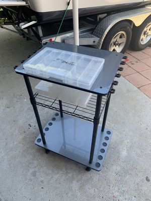 Fishing rod and tackle holder for Sale in San Diego, CA