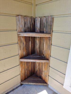 Rustic corner shelf for Sale in Alvin, TX