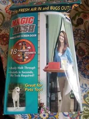 Magic Mesh Hands Free Screen Door for Sale in Murfreesboro, TN