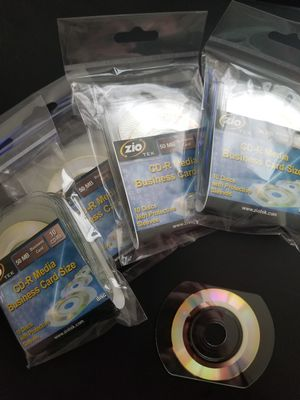Blank CDs - Business Card Size for Sale in Seattle, WA
