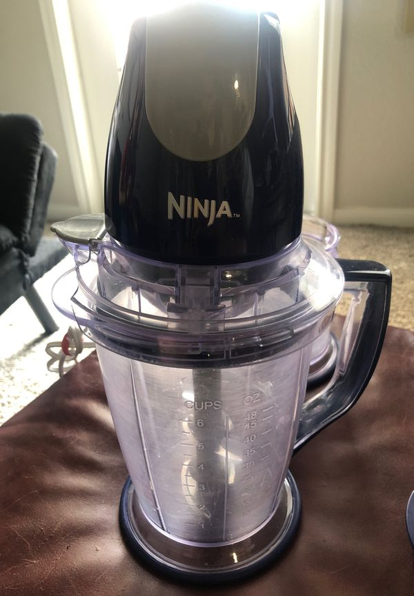 Ninja Blender & Food Processor - Used But Works Great A++++++