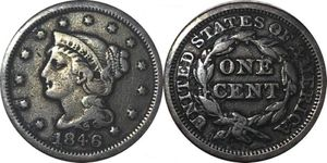 1846 Large Cent, Braided hair for Sale in Kirksville, MO