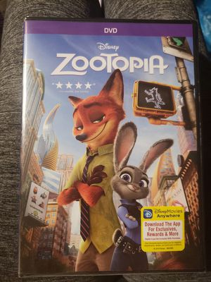 Zootopia DVD for Sale in Sanford, NC